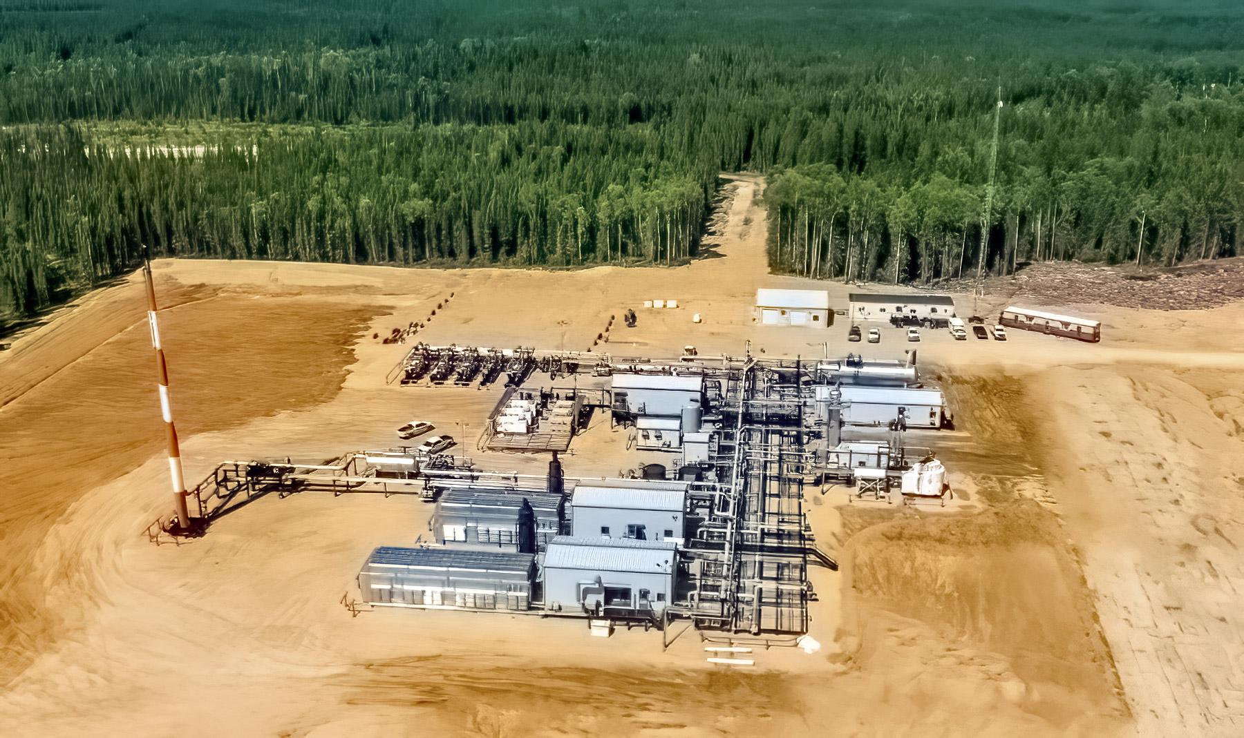 Placid Compressor Station