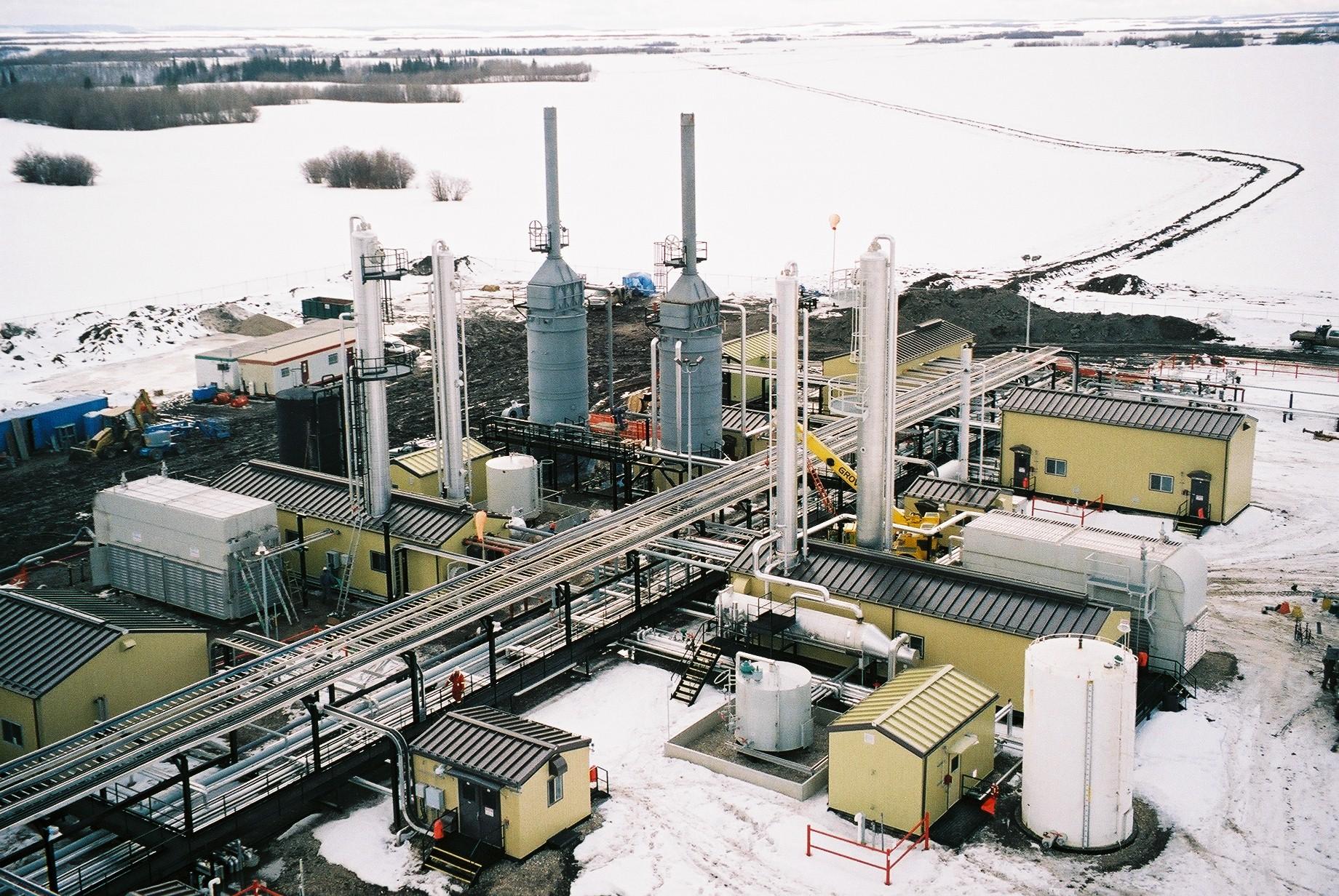 Pouce Coupe Sour Gas Plant