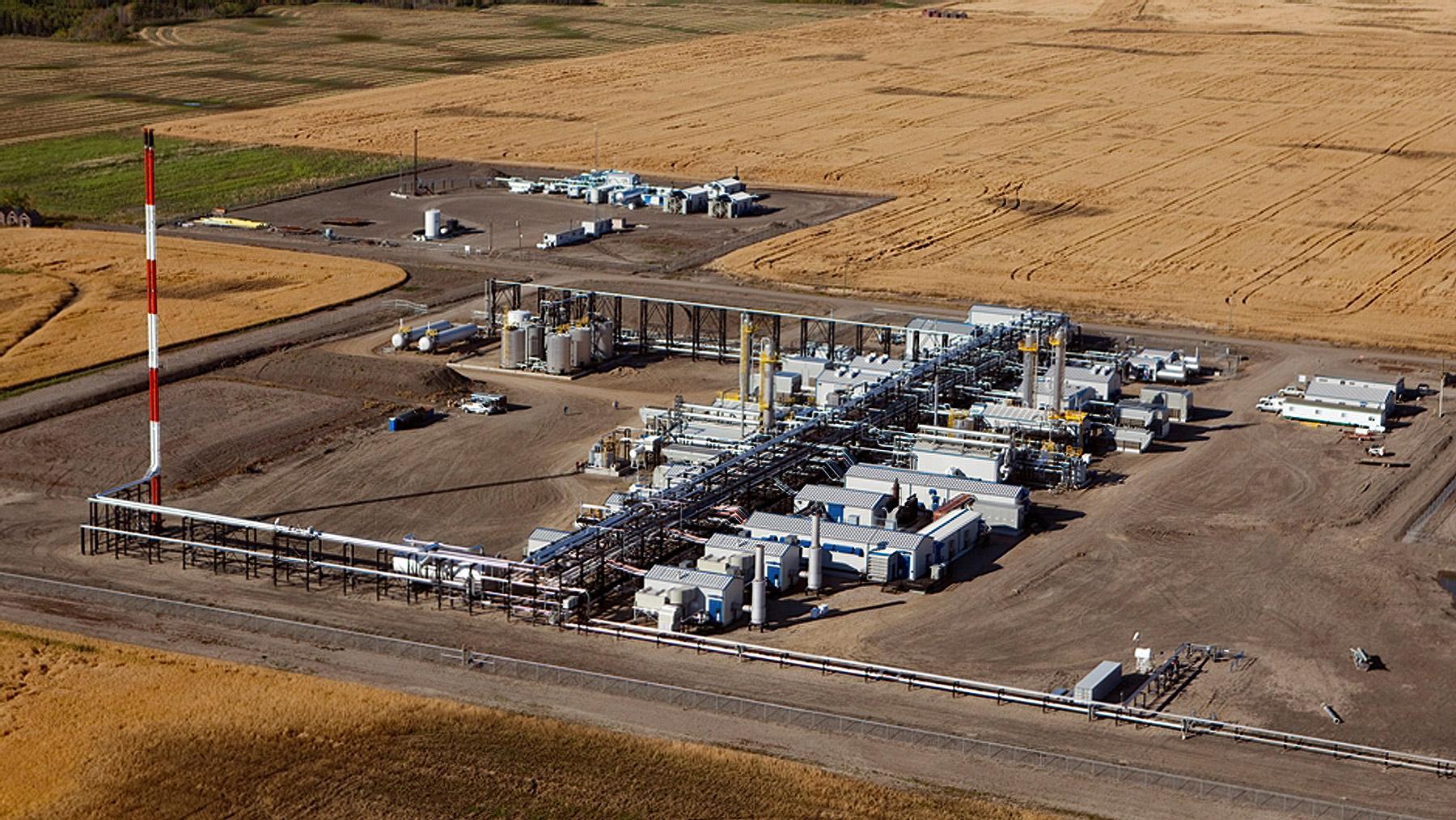 Dawson Sour Gas Plant