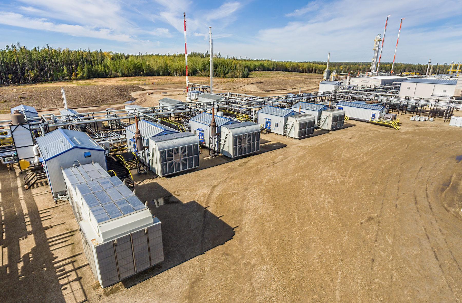 Musreau Gas Plant - Phase 1