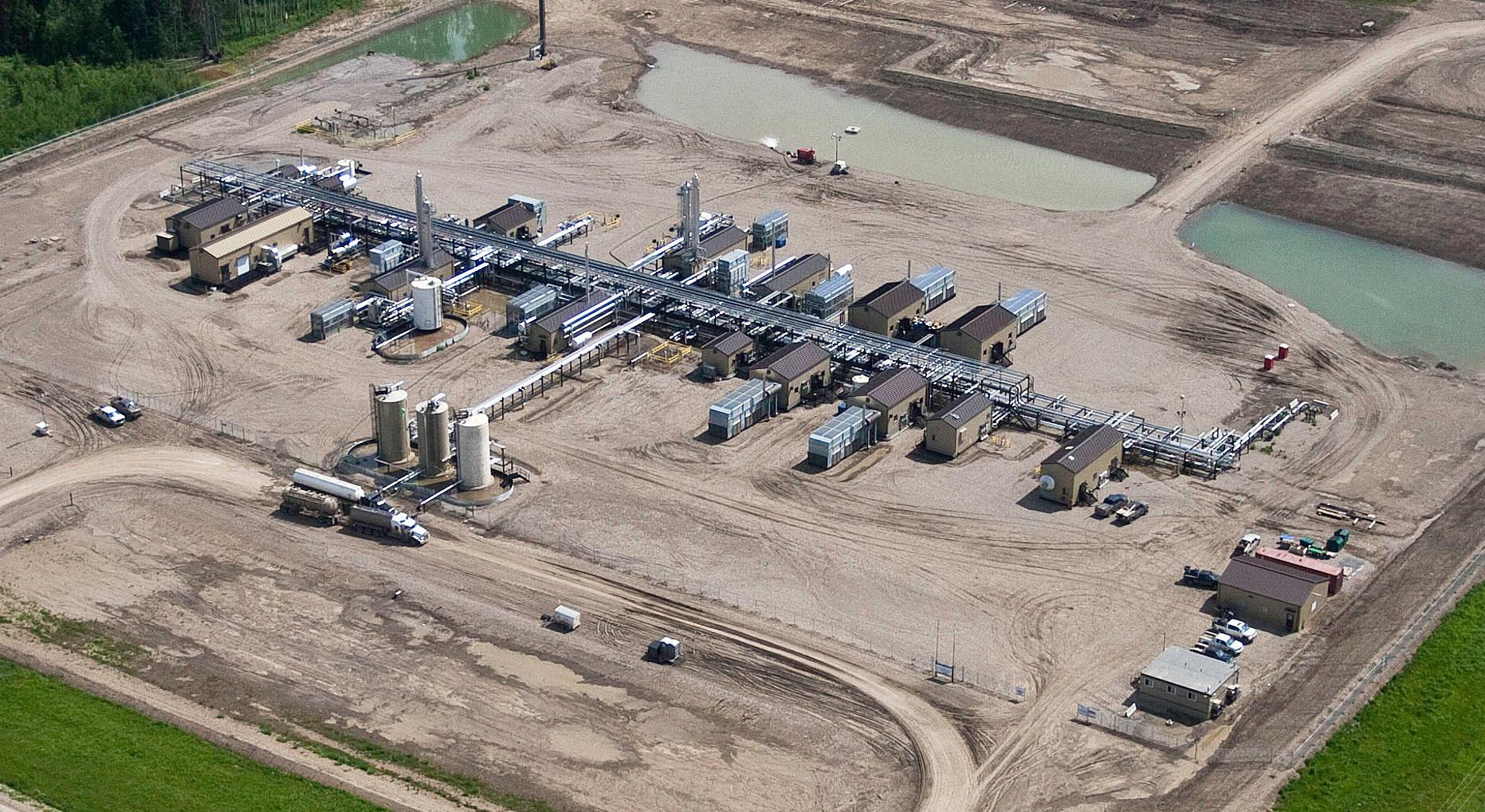 Pouce South Sour Gas Plant