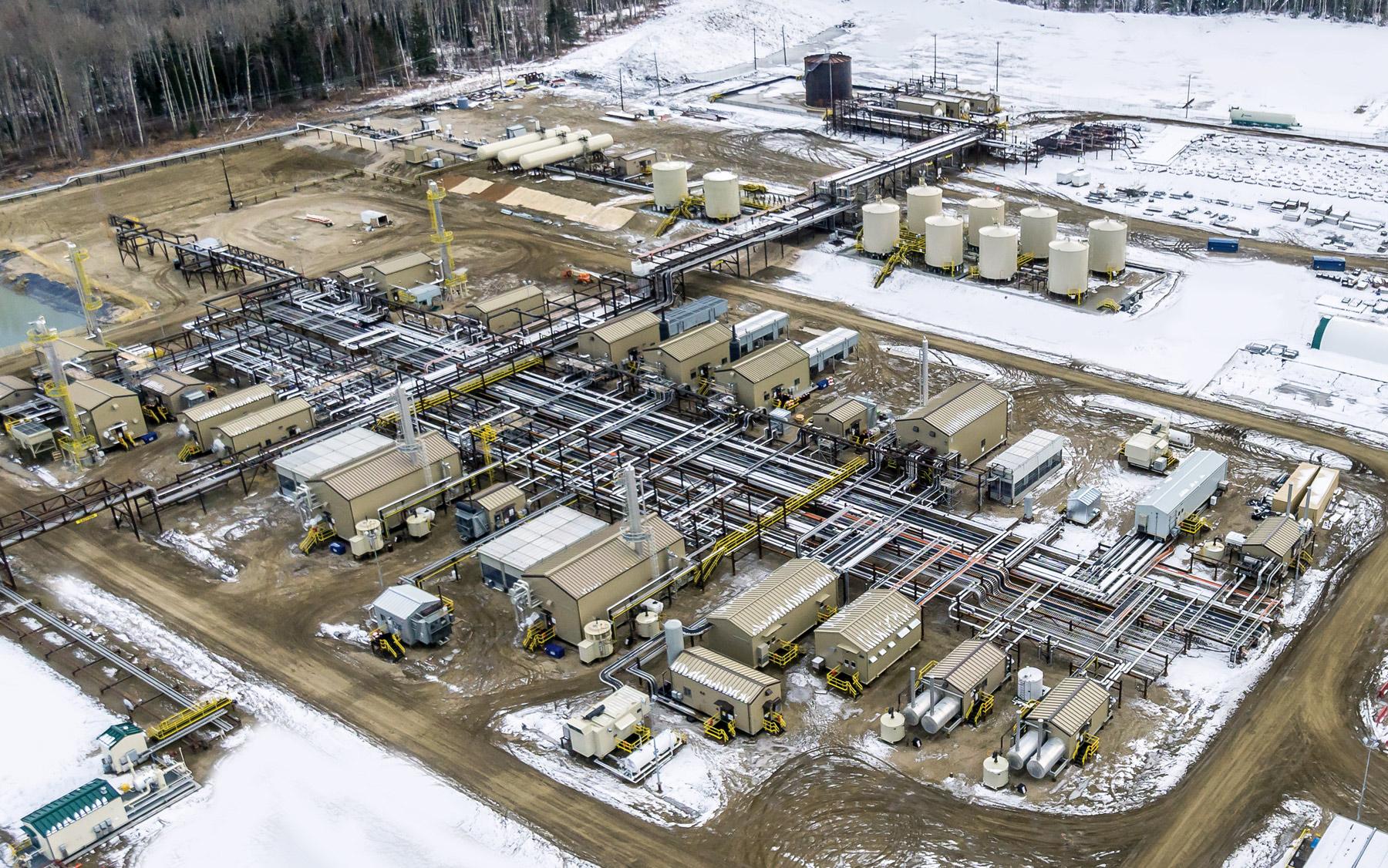 Simonette Gas Plant