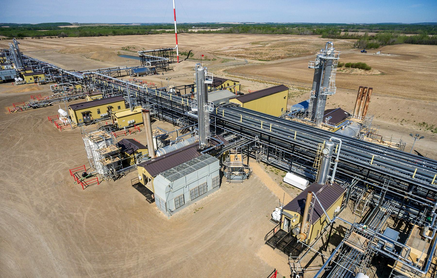 West Doe Sour Gas Plant
