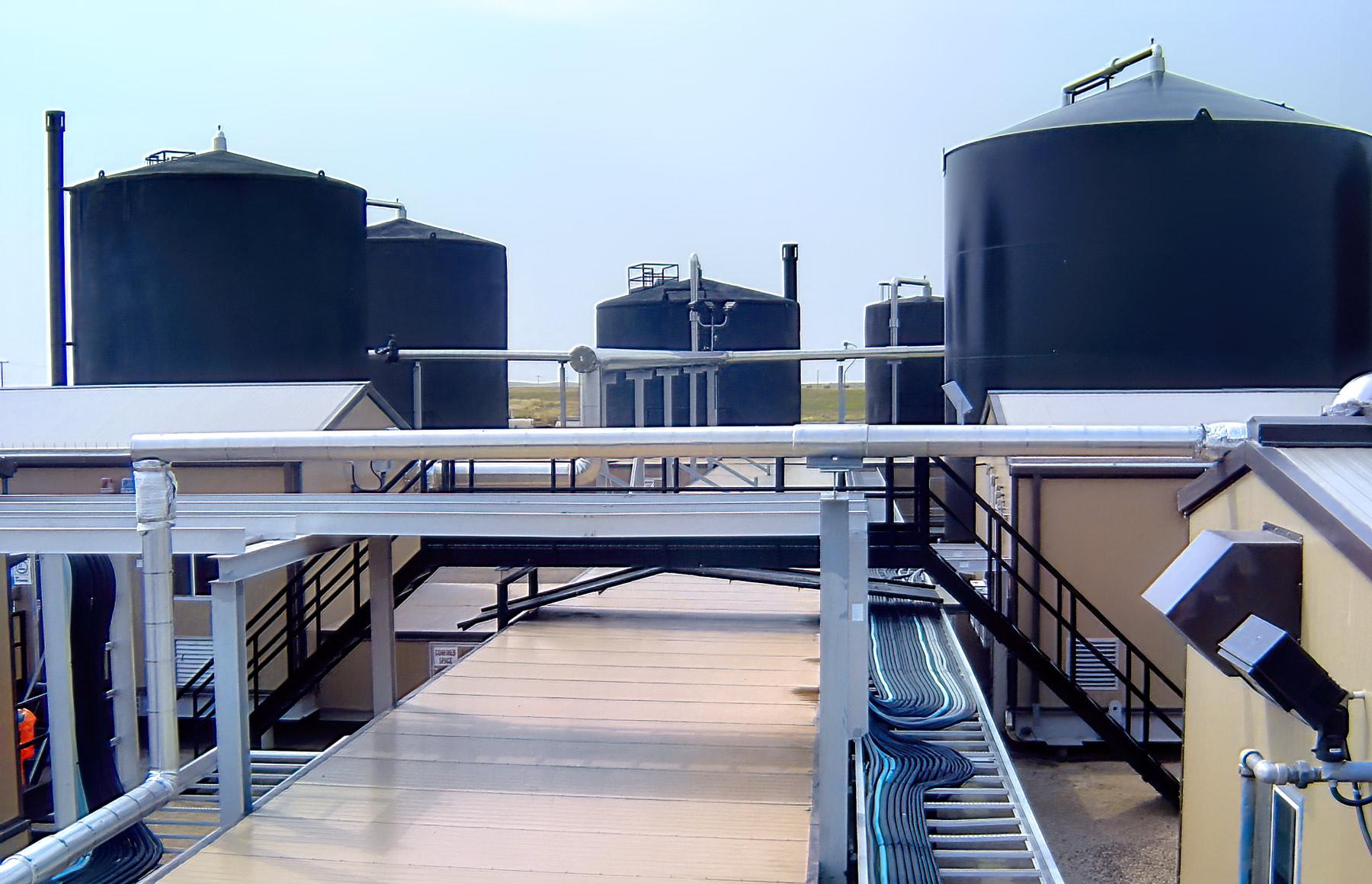 Glidden Heavy Oil Battery