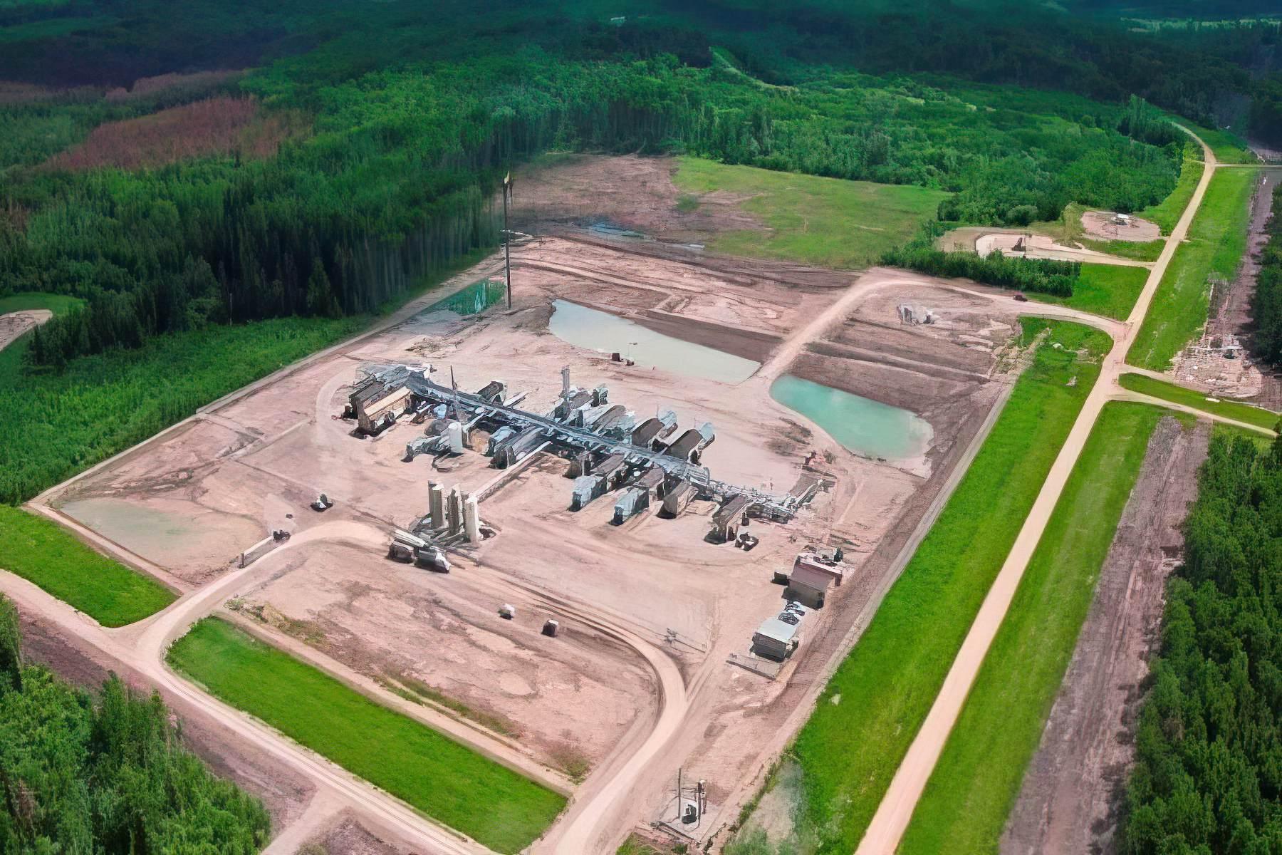 Pouce South Sour Gas Processing Facility