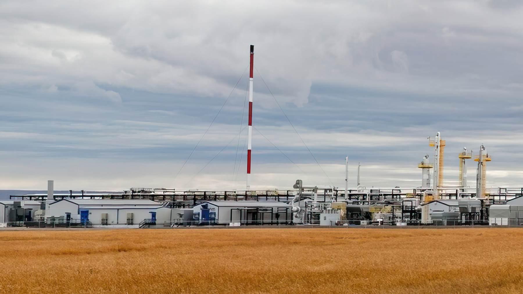 Dawson Sour Gas Processing Facility