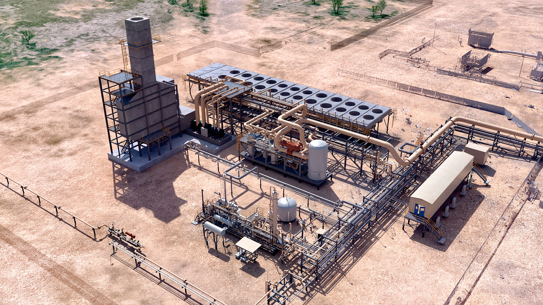 CO2 Centrifugal Compression for Carbon Capture Facility
