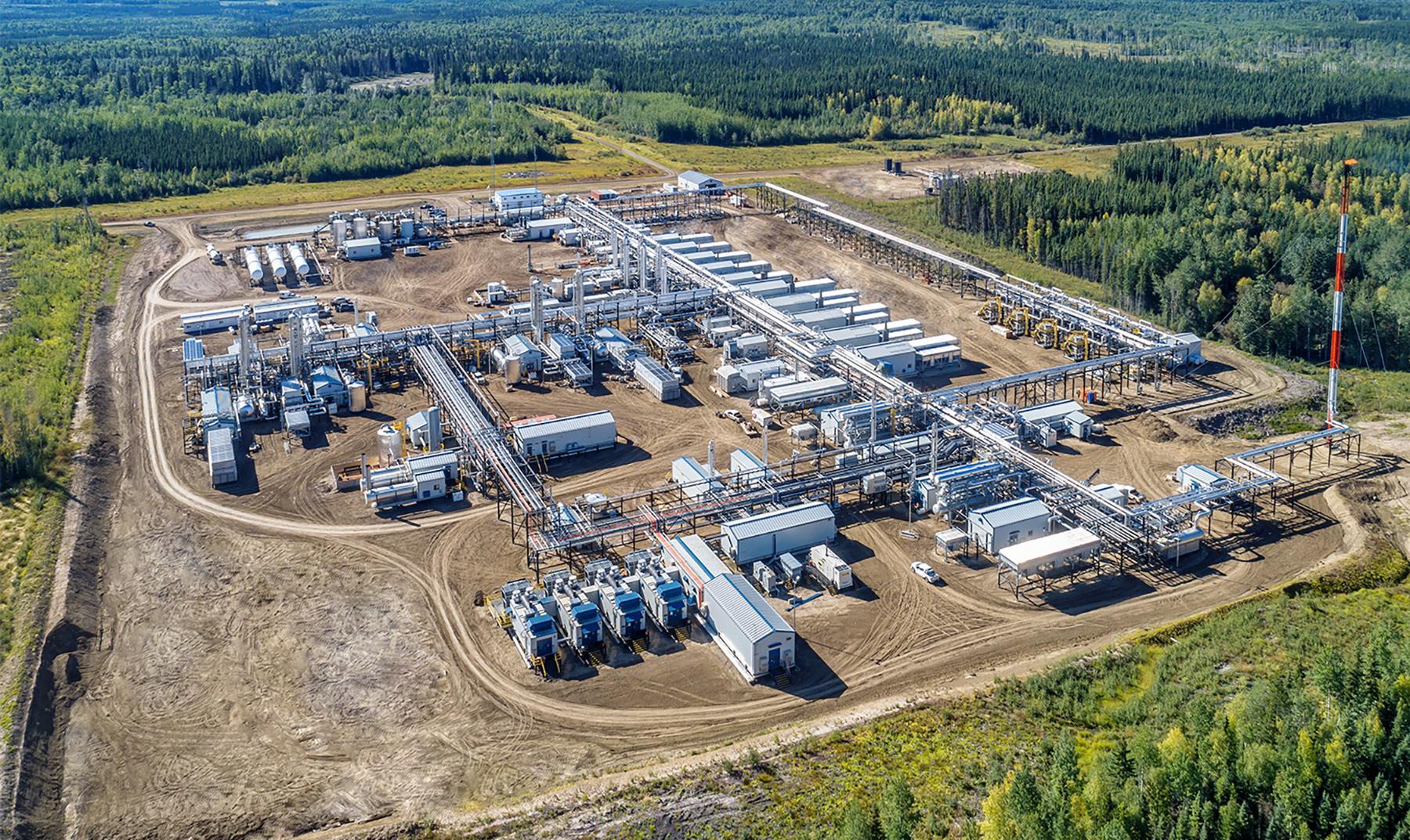 Glacier Sour Gas Plant Expansion