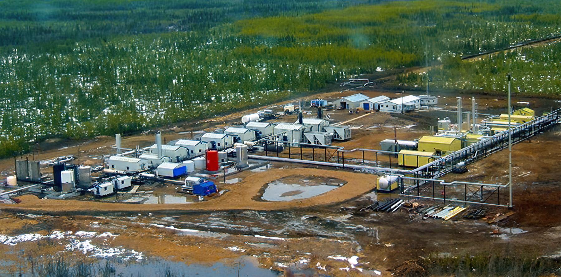 Tooga Gas Plant