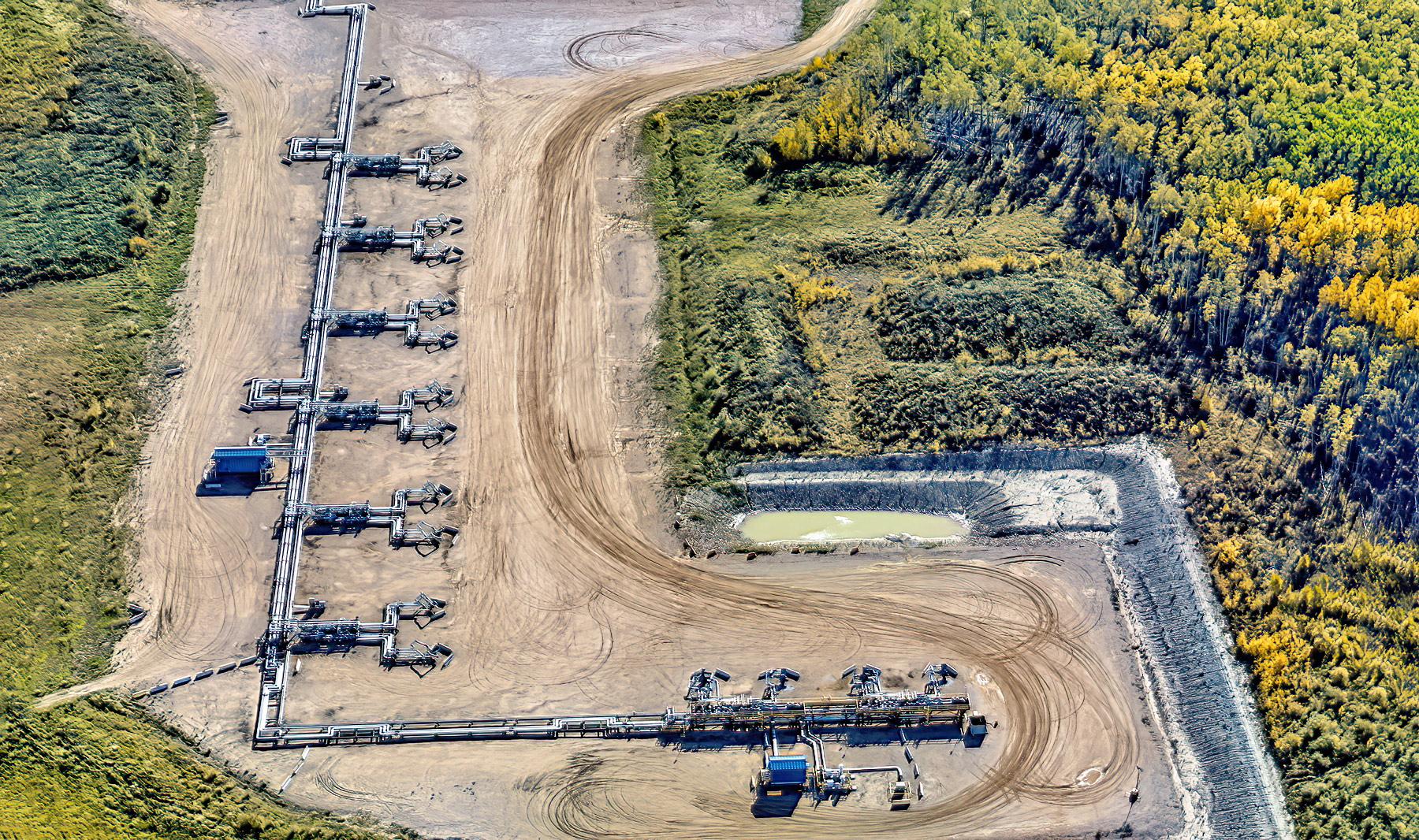 Mackay River Pad Expansion