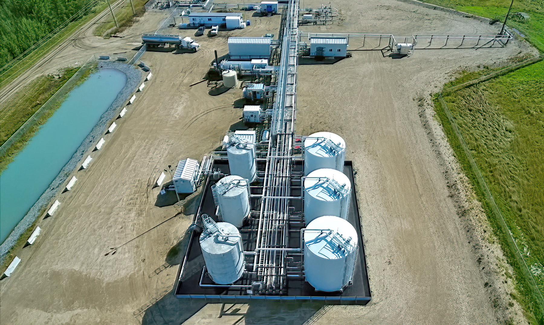 Blue Rapids Oil Battery