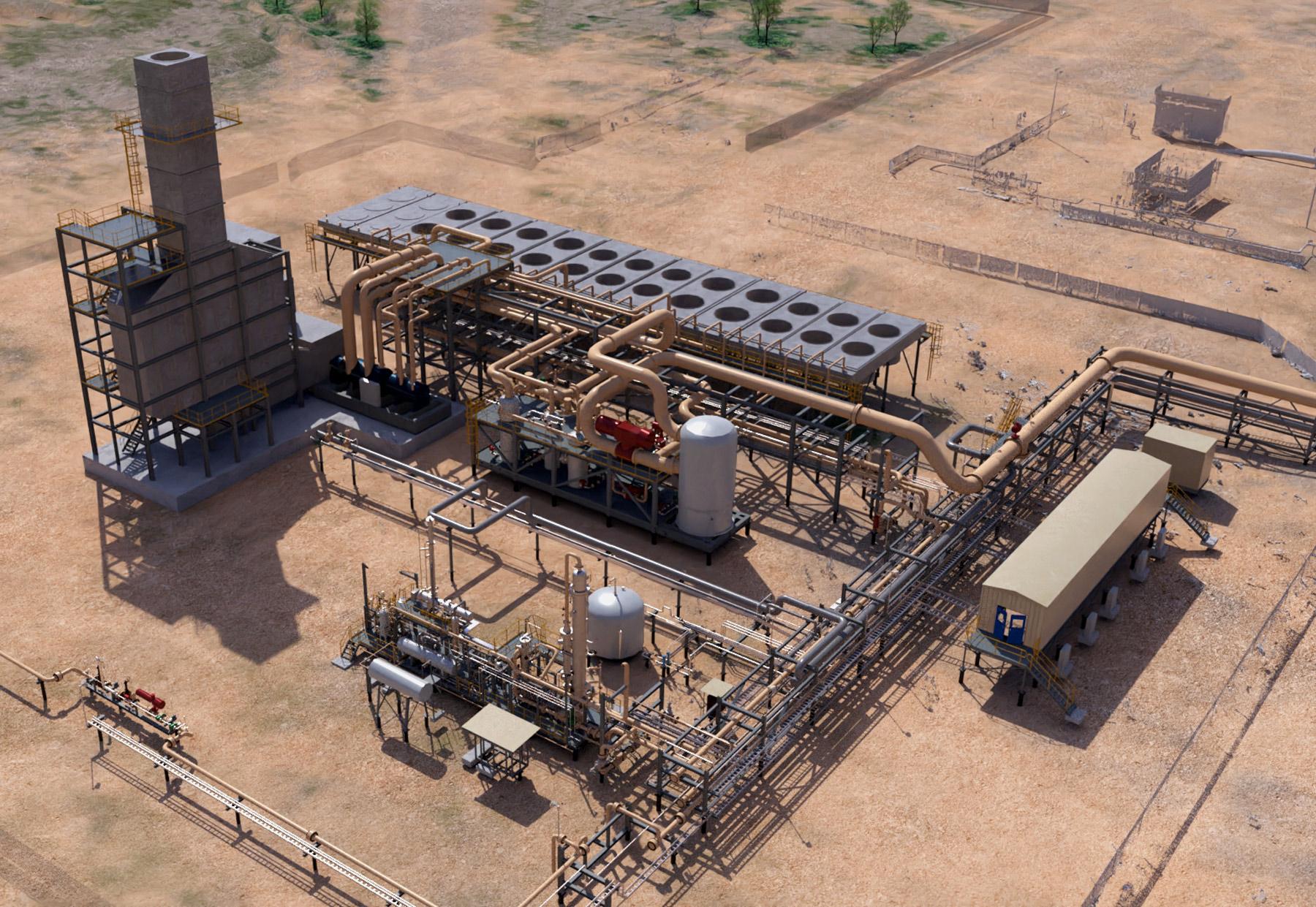 Moomba CCS – Cogeneration & Heat Recovery Steam Generation