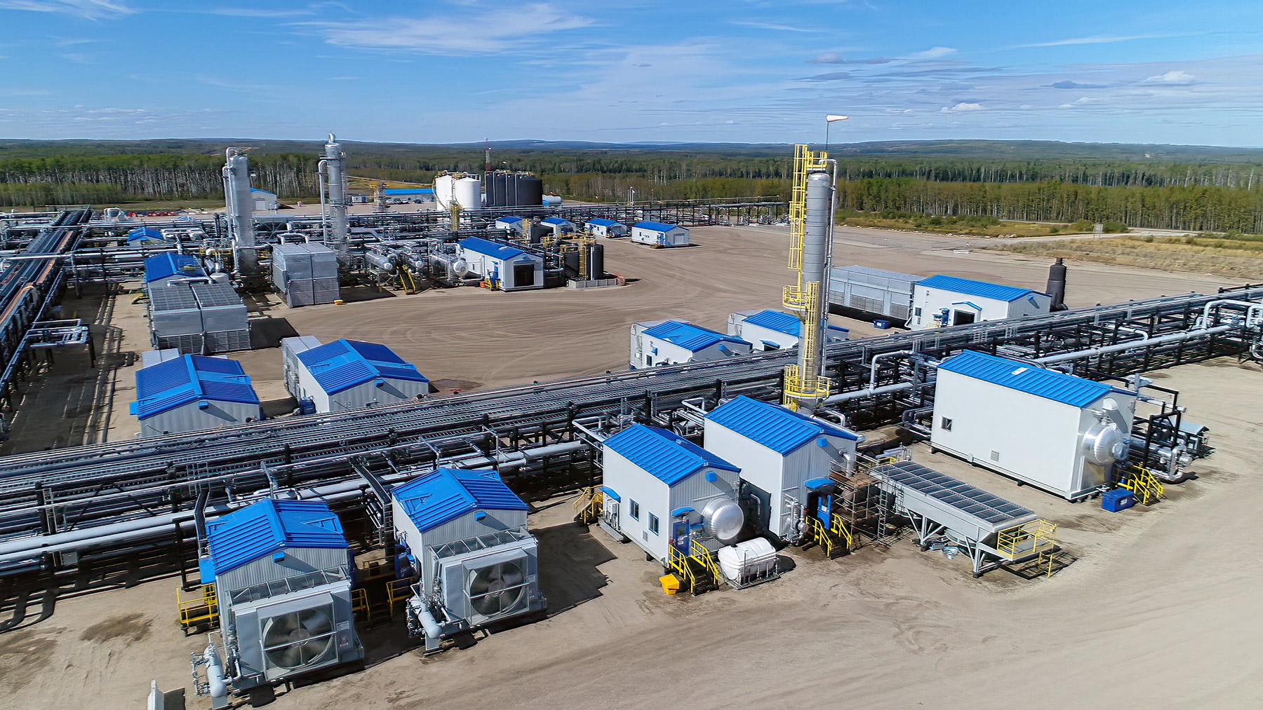 Wapiti Gas Plant – Condensate & Liquids Recovery