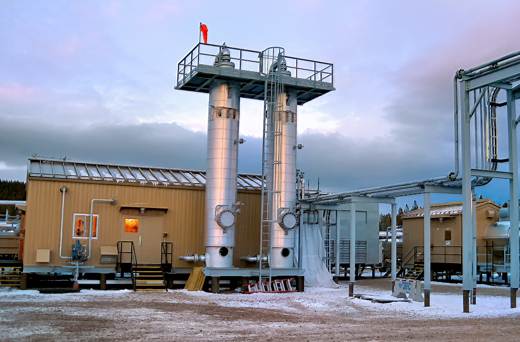 Ojay Sour Dehydration Facility