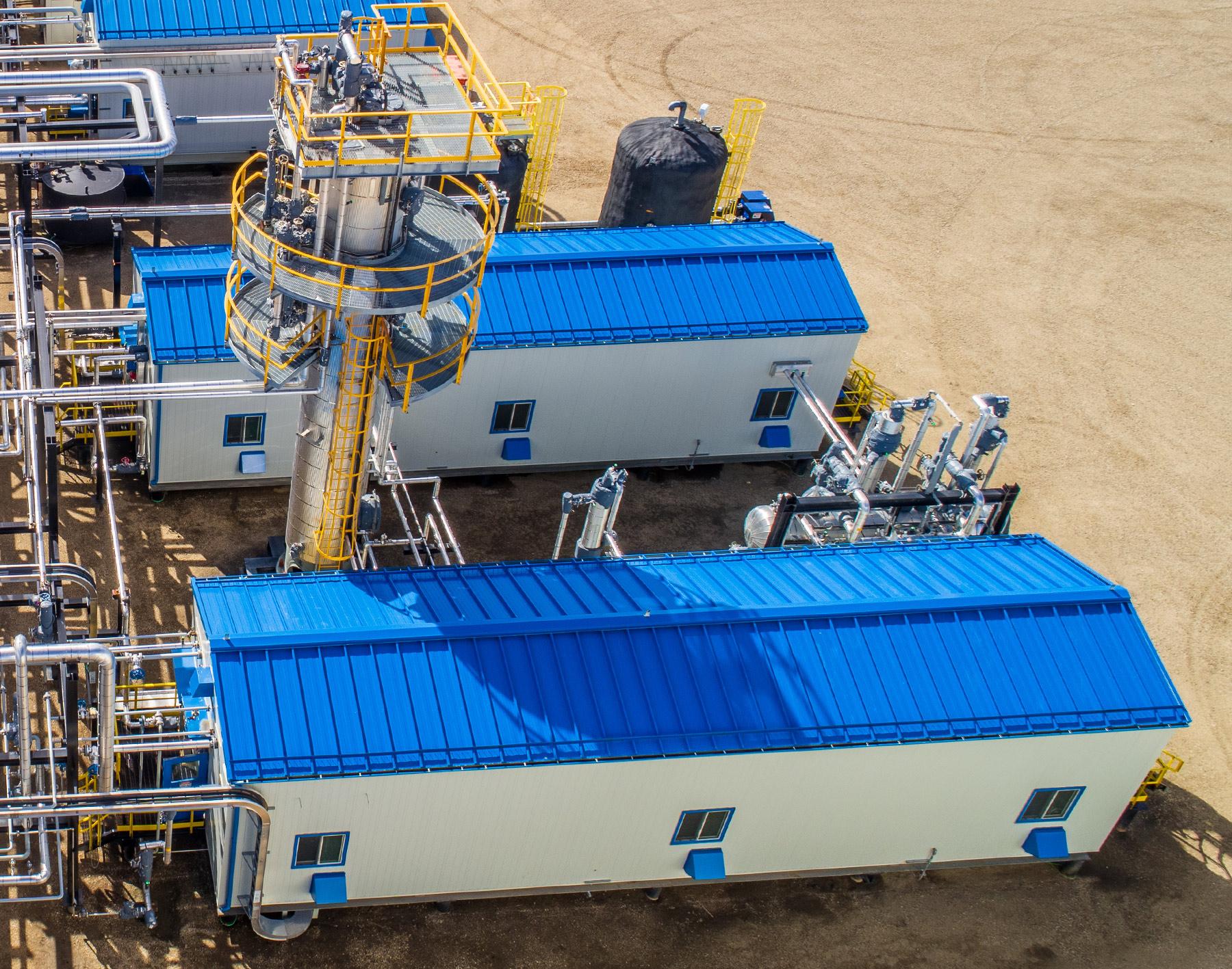 Wapiti Gas Plant Mercaptans Removal